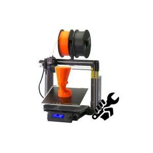 Original Prusa i3 MK3S+ 3D Printer Kit w/ 2 Sheets (1x PEI and 1x Powder-coated)