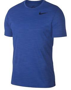 Nike Men's Superset Breathe Training Top T-Shirt Sz Medium AJ8021-480