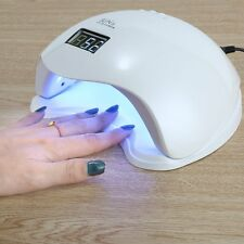 Professional 48W LED/UV Light Lamp 3C Technology SUN5 Cures Gel Nail Polish NEW