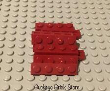Lego 10 1x4 Dark Red Plate