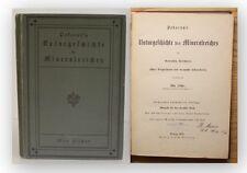 Fischer Naturgeschichte des Mineralreiches 1891 Mineralogie Naturwissenschaften