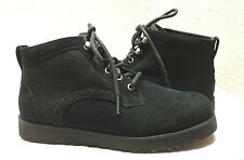 UGG BETHANY BLACK LACE UP SHEARLING LINED BOOT US 7 / EU 38 / UK 5.5 -  NEW