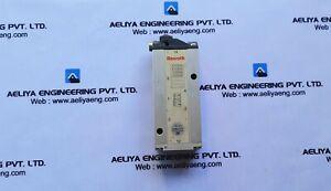Rexroth 3710750000 pneumatic valve