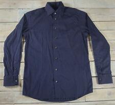 ETON Contemporary Fit Striped Long Sleeve Luxury Dress Shirt Size 15 1/2 39