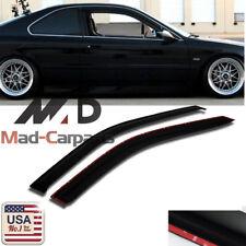 MAD 2pc Window Deflector Visor Shade Rain Guard For 1994-1997 Honda Accord Coupe