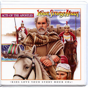 NEW! Your Story Hour Acts of the Apostles  Audio Drama CD Album  PAUL PETER JOHN