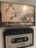 THE CARS HEARTBEAT CITY CASSETTE TAPE ORIGINAL 1984 PAPER LABEL WARNER ELEKTRA
