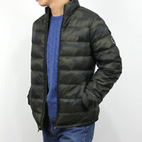 New Abercrombie A&F by Hollister Men LIGHTWEIGHT DOWN-FILLED Jacket Coat Size