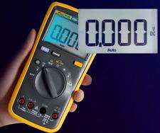 Fluke 15b Digital Multimeter Tester Dmm Tl75 Test Leads Auto Range Resistance