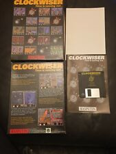 Retro/1990's PC DOS 3.5 FLOPPY Big Box game.  CLOCKWISER **VGC**