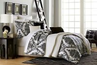 "5 Pc Jaclyn Smith ""ANTIQUE SCROLL"" Comforter Set ~ King 104"" x 94"" NEW"