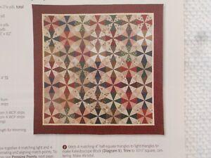 Hoedown Quilt Pattern from Magazine  Civil War/Feedsack Friendly/Stash Buster