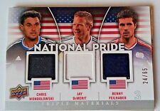 2012 Upper Deck MLS National Pride Triple Materials USA #NP-USA4 #24/65