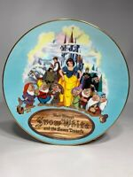 Disney's Snow White & The Seven Dwarfs 1987 Christmas Theme Park Exclusive Plate