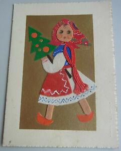 Jewelry Card Christmas To 1920 / Studio Bril, Zagreb/Collage Felt Fabric