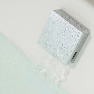 Vado Square Modern Designer Luxury Overflow Exo Bath Filler Click Clack Waste