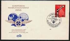 Bund Nr. 219 FDC/Ersttagsbrief, Europ. Fahrplankonferenz 1955 (41465)