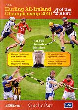 2010 GAA All Ireland Hurling  Championship -4 Best Matches Full Length on 2 DVDs