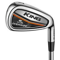 NEW Cobra Golf KING Oversize (Hybrid) Irons Graphite Pick Flex & Set Composition