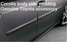 14-15 TOYOTA COROLLA PAINTED 1F9 SLATE METALLIC BODY SIDE MOLDING PT938-02140-11