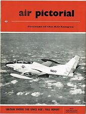 AIR PICTORIAL MAY 58: SPACE AGE CONFERENCE REPORT/ FOKKER G.1/ He162 + PLAN/ FE8