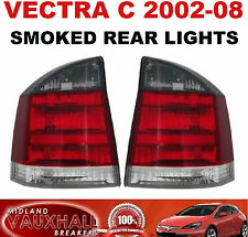 VAUXHALL VECTRA C 02-08 PAIR REAR SMOKED LIGHT LENS VXR SRI SXI PASSENGER DRIVER