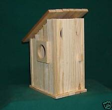 Out house Bird House Kit for Children and Adults Hand made in USA