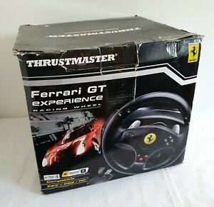 Thrustmaster Ferrari GT Experience Racing Steering Wheel & Pedals PS3 PS2 PC BOX
