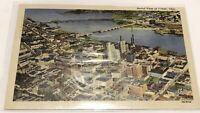Vintage Postcard - Aeriel View Of Toledo Ohio 1953