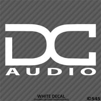 DC Car Audio Car Stereo Vinyl Decal Sticker - Choose Color