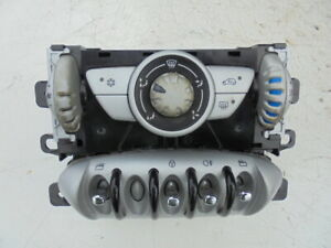 BMW MINI COOPER R56 2007 HEATER CONTROL PANEL