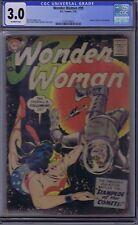 Wonder Woman #99 DC Pub 1958 CGC 3.0 (GOOD/VERY GOOD).