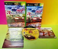 Ralli Sport Challenge - Microsoft Xbox OG Game Rare Complete Near Mint Disc