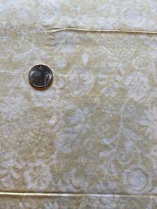 Primo Batiks BTY Cream Flowers