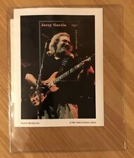 Jerry Garcia MongolPost Stamp With Certificate