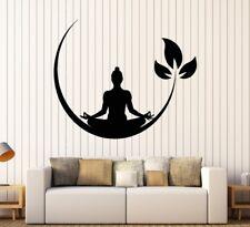 Buddha Yoga Indien Meditation Krishna Wandtattoo Wallpaper Wand Schmuck 57 x 69