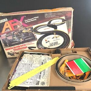 Aurora AFX Model Motoring Vintage Flex Track NIB HO Scale Race Set 2 Cars MCM