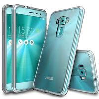"ASUS Zenfone 3 Case, 5.5"" (ZE552KL), Ringke [FUSION] Crystal PC Back TPU Bumper"