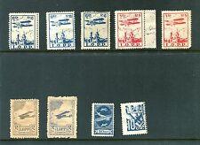 Vintage Stamp set POLAND LOPP Stamps set of 9