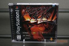 Bloody Roar (PlayStation 1, PS1 1998) FACTORY Y-FOLD SEALED! - RARE!
