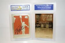 MICHAEL JORDAN 1986 Fleer Feel The Game Signature 23KT Gold Card - GEM MINT 10