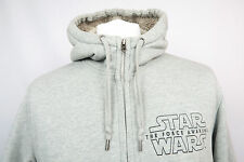 Mens Star Wars The Force Awakens Kylo Ren Graphic Full Zip Hoodie Adult Size XL