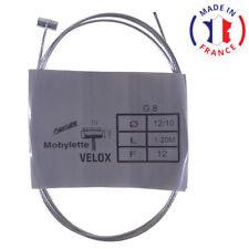 Câble de décompression gaz VELOX scooter mobylette SOLEX MBK PEUGEOT moto acier