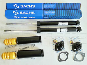 FOR BMW E46 E36 REAR SHOCK ABSORBER SHOCKERS BUMP STOP KIT MTECH M SUSPENSION