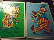 vintage- warren paper products- puzzles