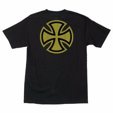 Independent Trucks Metallic Bar And Cross Skateboard T Shirt Black w/Gold Xxl
