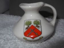 Porcelain/China Green Unmarked Crested China
