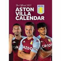 Aston Villa FC Official 2021 Calendar Great Christmas Gift