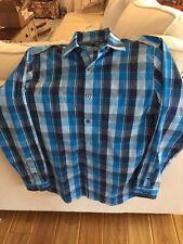 Men's Long Sleeved Plaid Shirt New