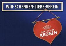 Bier Beer Werbekarte Dortmunder Kronen, selten, bestens erhalten